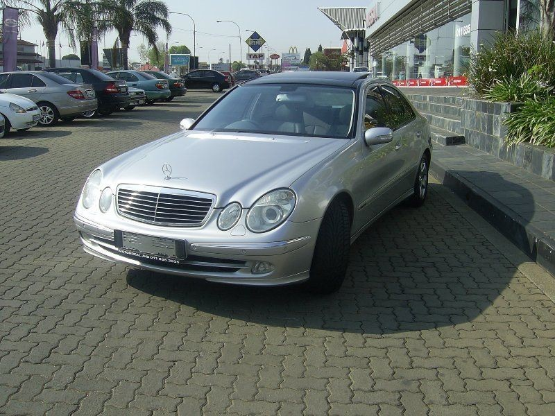 Used mercedes benz e class e 240 avantgarde for sale in for 240 mercedes benz for sale