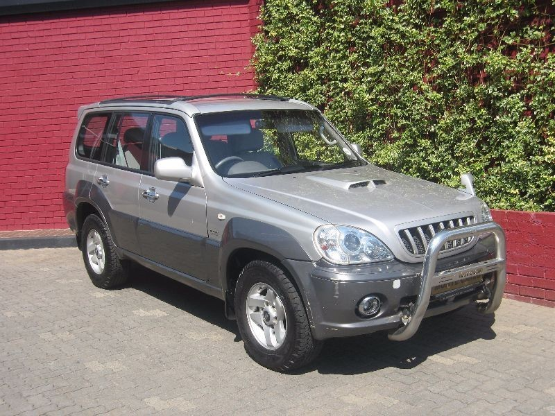 used hyundai terracan 2 9 crdi a t for sale in gauteng. Black Bedroom Furniture Sets. Home Design Ideas