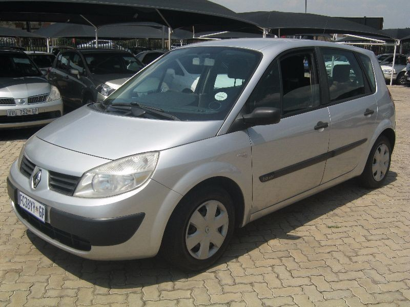 used renault scenic 1 6 expression for sale in gauteng. Black Bedroom Furniture Sets. Home Design Ideas