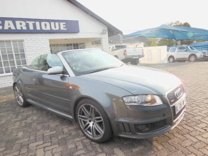 used audi rs4 quattro cabriolet for sale in gauteng id 1350432. Black Bedroom Furniture Sets. Home Design Ideas