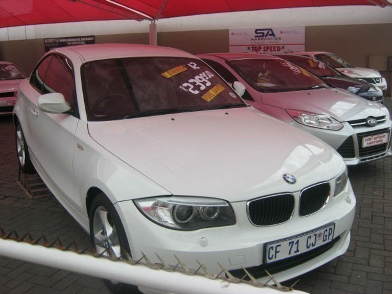 used bmw 1 series 120d a t coupe for sale in gauteng. Black Bedroom Furniture Sets. Home Design Ideas