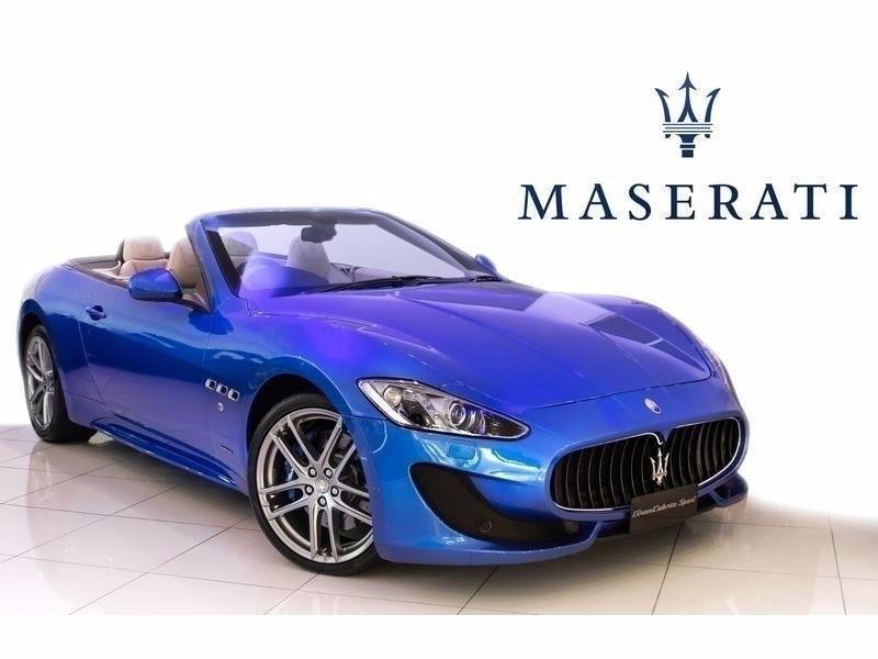 used maserati granturismo grancabrio sport 4 7 v8 500km for sale in western cape. Black Bedroom Furniture Sets. Home Design Ideas