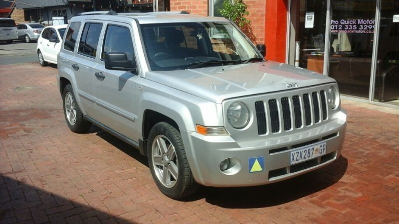 used jeep patriot 2 0 crd limited for sale in gauteng id 1375209. Black Bedroom Furniture Sets. Home Design Ideas