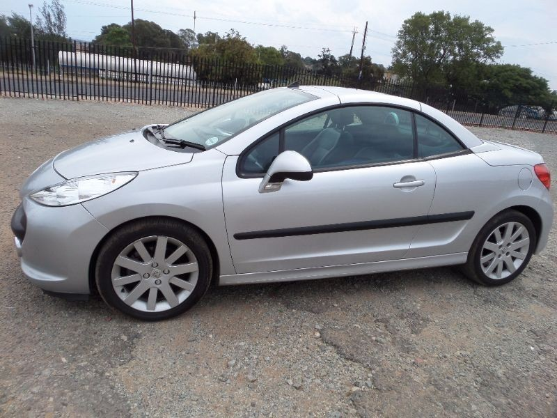 Used peugeot 206 1 6 coupe cabriolet for sale in gauteng id 1389073 - Peugeot 206 coupe cabriolet review ...