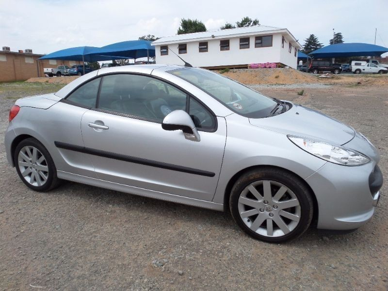used peugeot 206 1 6 coupe cabriolet for sale in gauteng id 1389073. Black Bedroom Furniture Sets. Home Design Ideas