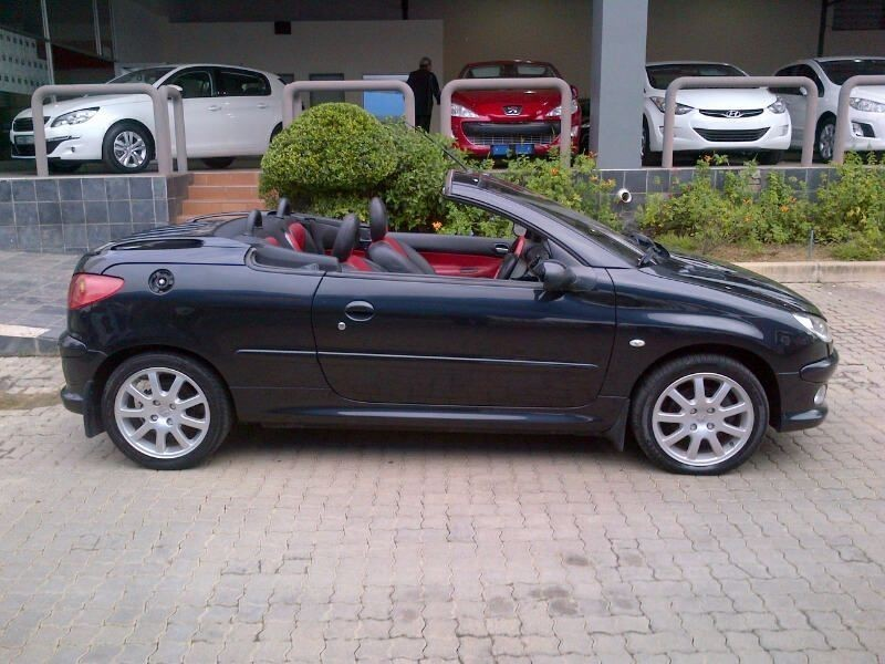 Used peugeot 206 2 0 coupe cabriolet for sale in gauteng id 1404877 - Peugeot 206 coupe cabriolet review ...