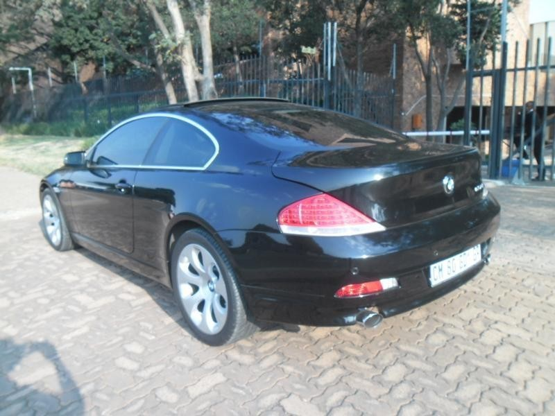 used bmw 6 series 650i coupe a t e63 for sale in gauteng. Black Bedroom Furniture Sets. Home Design Ideas
