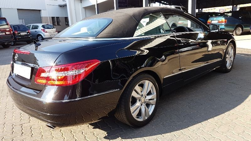 used mercedes benz e class e 350 cabriolet convertible a t for sale in gauteng id. Black Bedroom Furniture Sets. Home Design Ideas