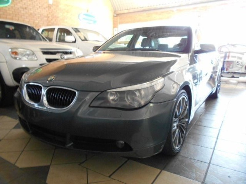 used bmw 5 series 523i a t e60 for sale in north west. Black Bedroom Furniture Sets. Home Design Ideas