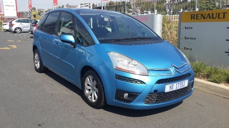 used citroen c4 picasso 1 6 vti seduction for sale in gauteng id 1436083. Black Bedroom Furniture Sets. Home Design Ideas