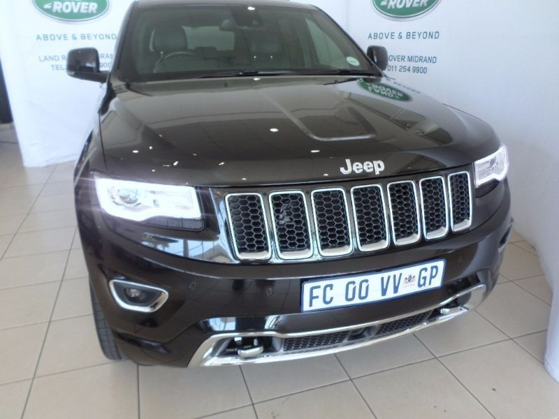 used jeep grand cherokee overland 3 0 v6 crd for sale in gauteng id 1436493. Black Bedroom Furniture Sets. Home Design Ideas