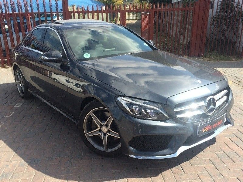 used mercedes benz c class c250 amg line auto sunroof only 13000kms for sale in gauteng cars. Black Bedroom Furniture Sets. Home Design Ideas