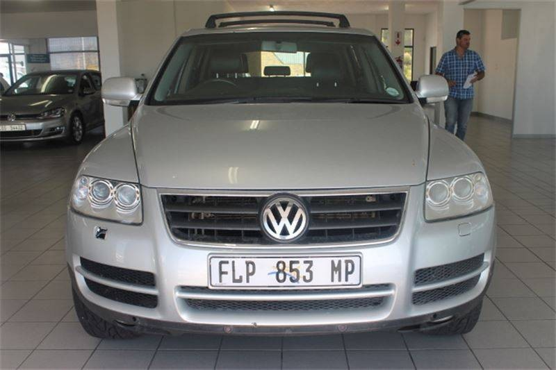 used volkswagen touareg r5 2 5 tdi tip for sale in western cape id 1441645. Black Bedroom Furniture Sets. Home Design Ideas