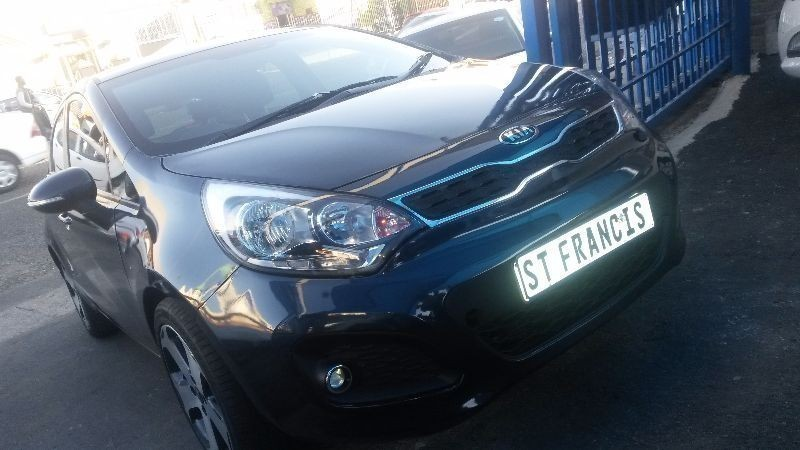 Used Kia Rio 1 4 Engine Capacity Bank Finance Available