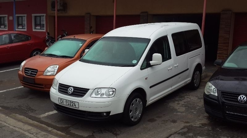 used volkswagen caddy maxi 1 9 tdi trendline for sale in western cape id 1446145. Black Bedroom Furniture Sets. Home Design Ideas