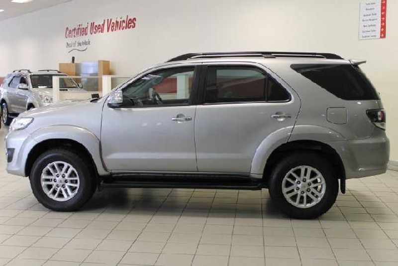 Used Toyota Fortuner 2 5d 4d Rb For Sale In Western Cape