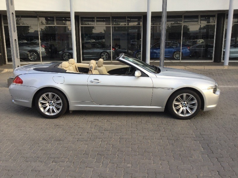 used bmw 6 series 650i convertible a t e64 for sale in gauteng id 1448510. Black Bedroom Furniture Sets. Home Design Ideas