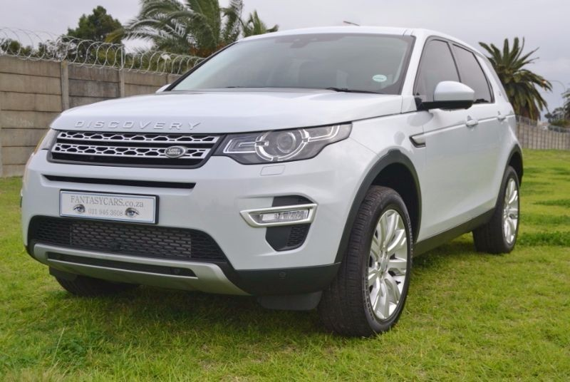 used land rover discovery land rover discovery sport hse luxury for sale in western cape cars. Black Bedroom Furniture Sets. Home Design Ideas