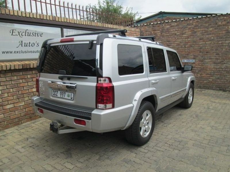 used jeep commander 3 0 limited for sale in gauteng cars. Black Bedroom Furniture Sets. Home Design Ideas