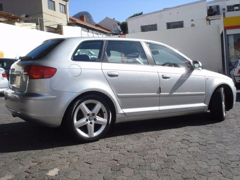 used audi a3 sportback fsi ambit dsg for sale in western cape id 1451772. Black Bedroom Furniture Sets. Home Design Ideas