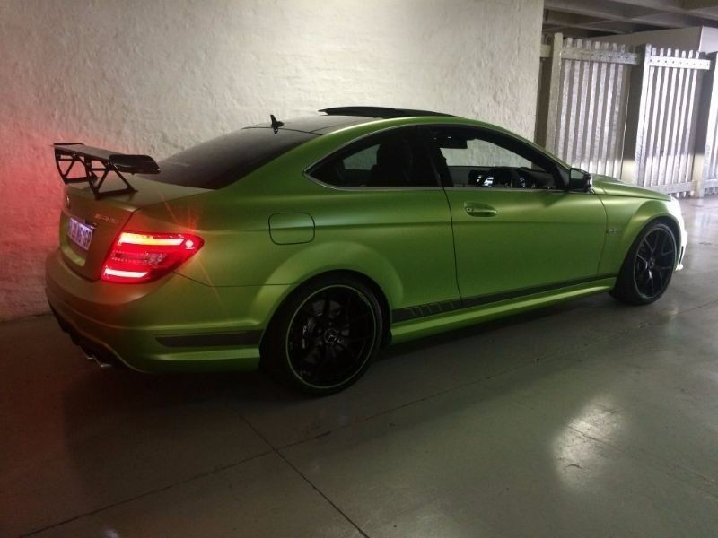 Used mercedes benz c class c63 amg coupe for sale in for Mercedes benz of greensboro used cars