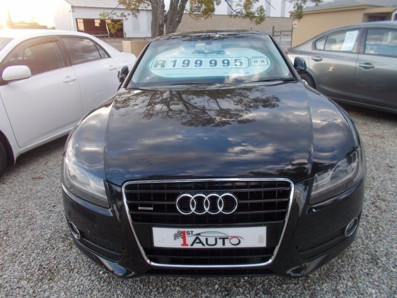 used audi a5 3 2 fsi quattro tip for sale in western cape. Black Bedroom Furniture Sets. Home Design Ideas