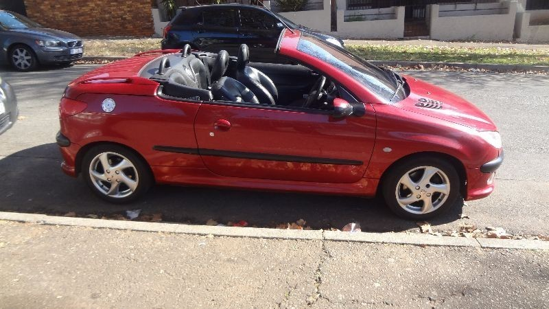 Used peugeot 206 2 0 coupe cabriolet for sale in gauteng id 1459427 - Peugeot 206 coupe cabriolet review ...