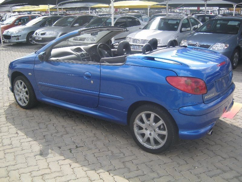 Used peugeot 206 2 0 coupe cabriolet for sale in gauteng id 1466732 - Peugeot 206 coupe cabriolet review ...