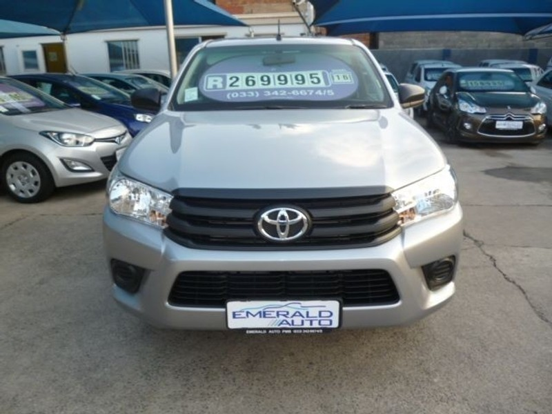 Used Toyota Hilux 2 4 Gd Single Cab Bakkie For Sale In