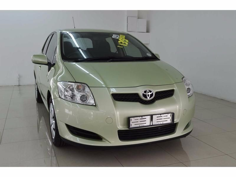 used toyota auris 160 rt for sale in gauteng id 1469148. Black Bedroom Furniture Sets. Home Design Ideas