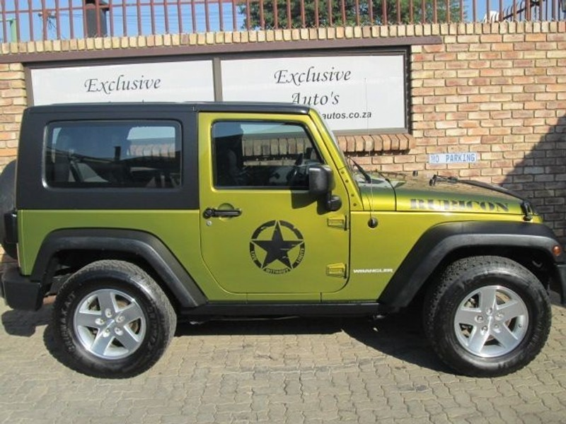 used jeep wrangler 3 8 rubicon 2dr for sale in gauteng id 1478962. Black Bedroom Furniture Sets. Home Design Ideas