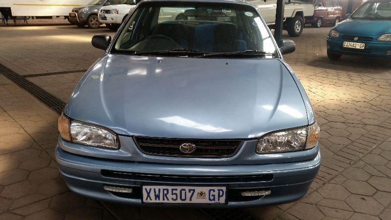 used toyota corolla 1 6 gl for sale in gauteng. Black Bedroom Furniture Sets. Home Design Ideas