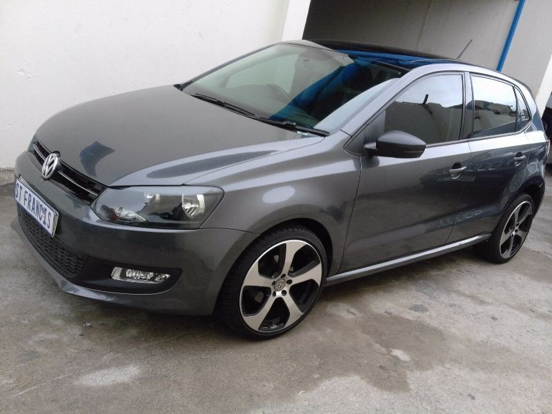 used volkswagen polo 1 4 with panoramic sunroof for sale. Black Bedroom Furniture Sets. Home Design Ideas