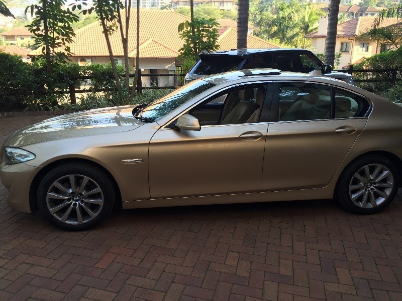 used bmw 5 series 523i innovation pack gold cream all extras for sale in kwazulu natal. Black Bedroom Furniture Sets. Home Design Ideas