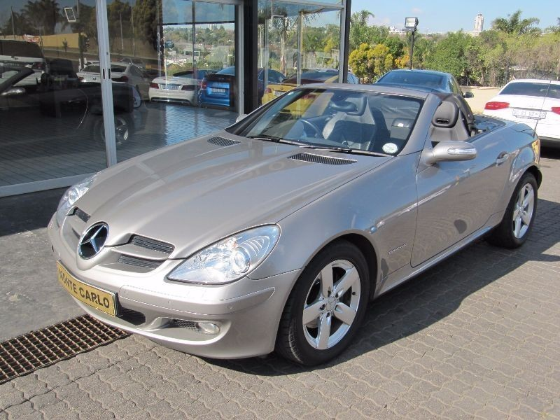 used mercedes benz slk class slk 200 kompressor a t for. Black Bedroom Furniture Sets. Home Design Ideas