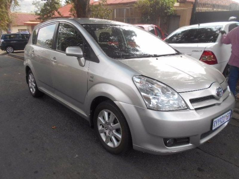 used toyota corolla verso 1800 for sale in gauteng id 1492679. Black Bedroom Furniture Sets. Home Design Ideas