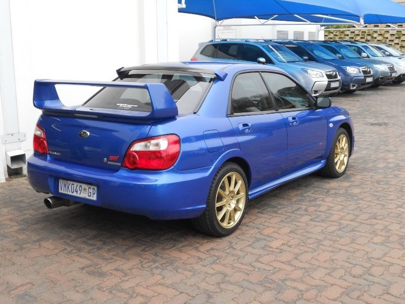 used subaru wrx 2 5 sti manual for sale in gauteng id 1499133. Black Bedroom Furniture Sets. Home Design Ideas
