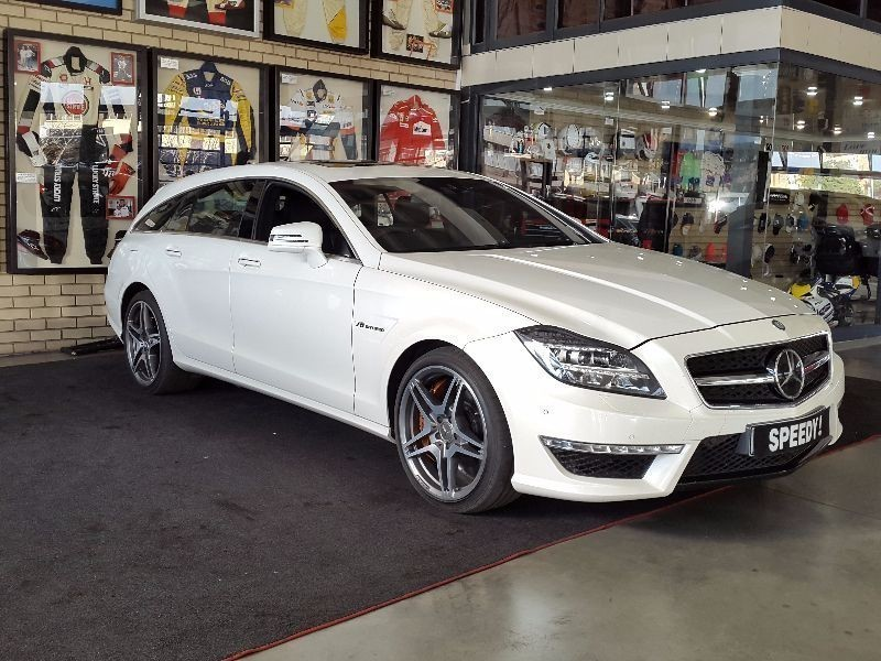 Used mercedes benz cls class cls 63 amg shooting brake for for Mercedes benz cls station wagon