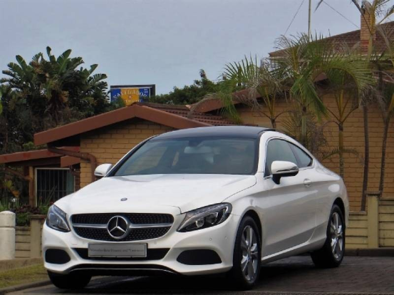 Used mercedes benz c class c200 coupe auto for sale in for Mercedes benz financial report 2016