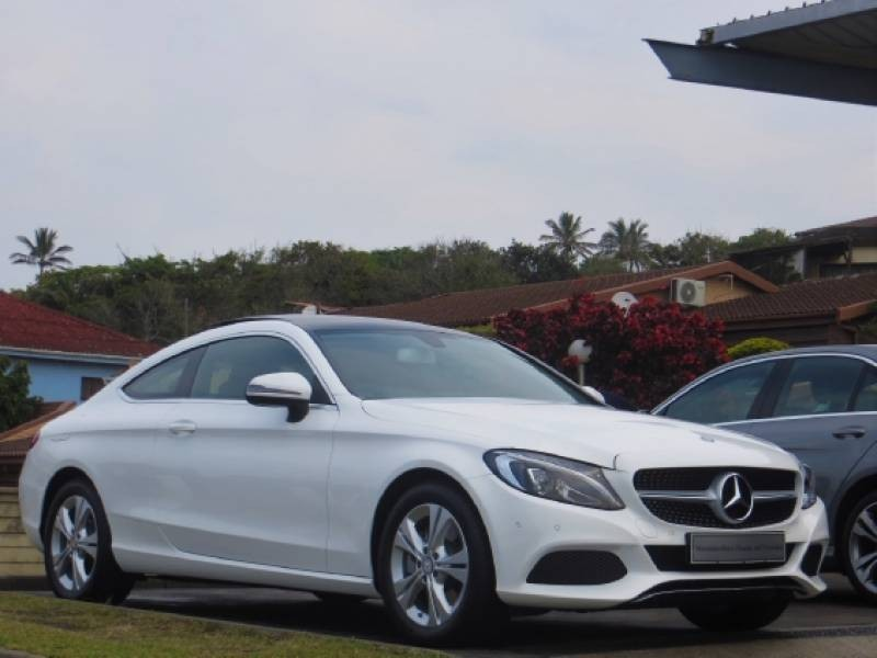 used mercedes benz c class c200 coupe auto for sale in kwazulu natal id 1505893. Black Bedroom Furniture Sets. Home Design Ideas