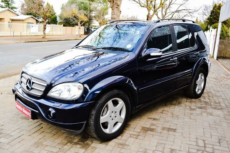 used mercedes benz m class ml 55 amg f l for sale in free state id 1507447. Black Bedroom Furniture Sets. Home Design Ideas