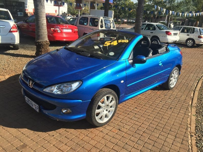 Used peugeot 206 2 0 coupe cabriolet for sale in gauteng id 1509838 - Peugeot 206 coupe cabriolet review ...