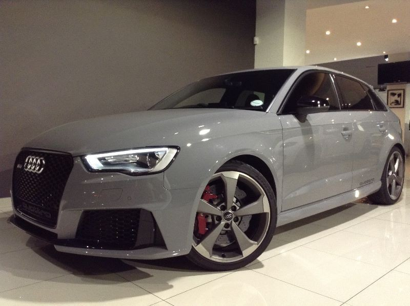 used audi rs3 sportback stronic for sale in gauteng id 1511458. Black Bedroom Furniture Sets. Home Design Ideas