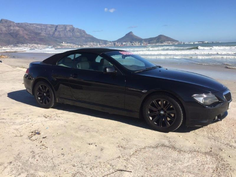 used bmw 6 series 645ci convertible e64 for sale in western cape id 1511875. Black Bedroom Furniture Sets. Home Design Ideas