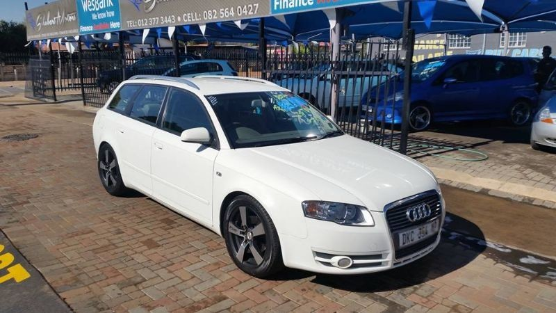 used audi a4 station wagon for sale in gauteng id 1514314. Black Bedroom Furniture Sets. Home Design Ideas