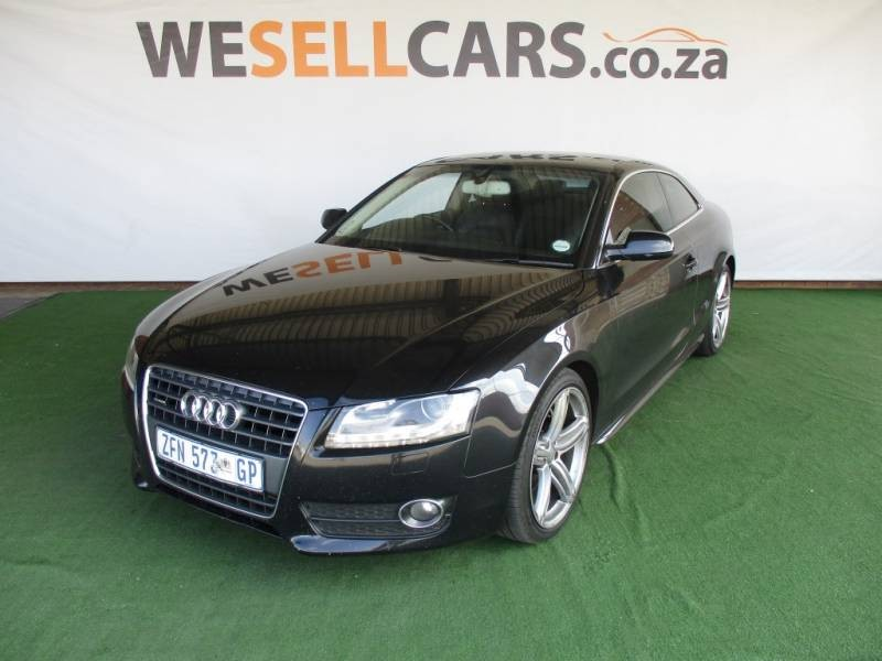 used audi a5 fsi q stronic for sale in gauteng id. Black Bedroom Furniture Sets. Home Design Ideas