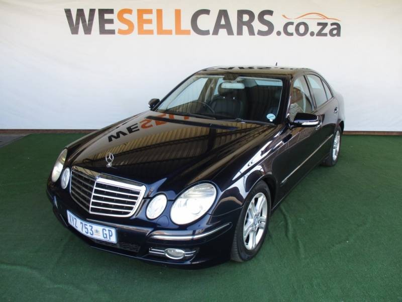 used mercedes benz e class e 220 cdi avantgarde for sale in gauteng id 1514519. Black Bedroom Furniture Sets. Home Design Ideas