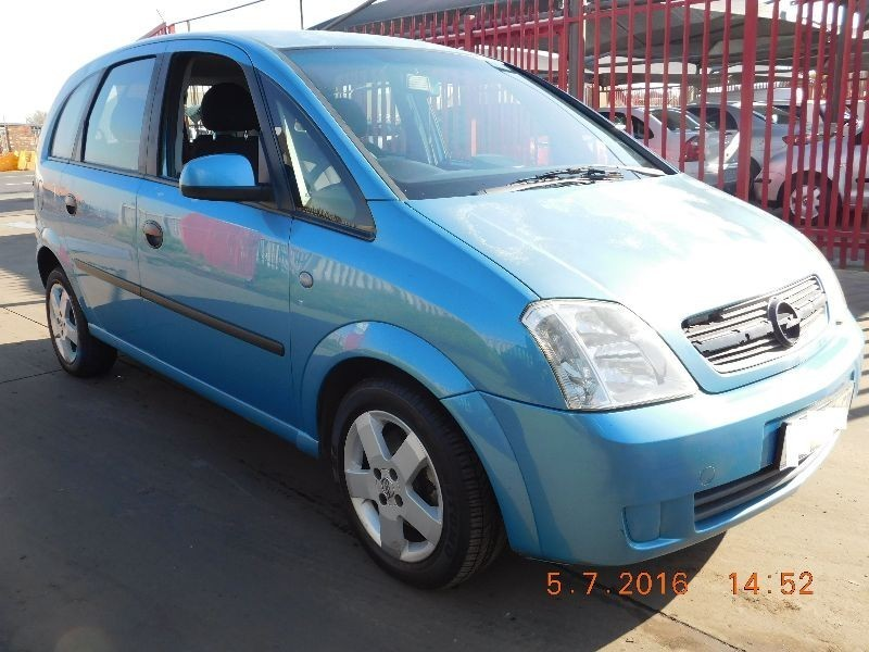 used opel meriva 1 6 club for sale in gauteng id 1515027. Black Bedroom Furniture Sets. Home Design Ideas