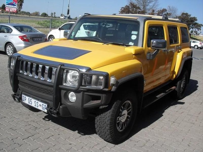 used hummer h3 luxury a t for sale in gauteng id 1517714. Black Bedroom Furniture Sets. Home Design Ideas