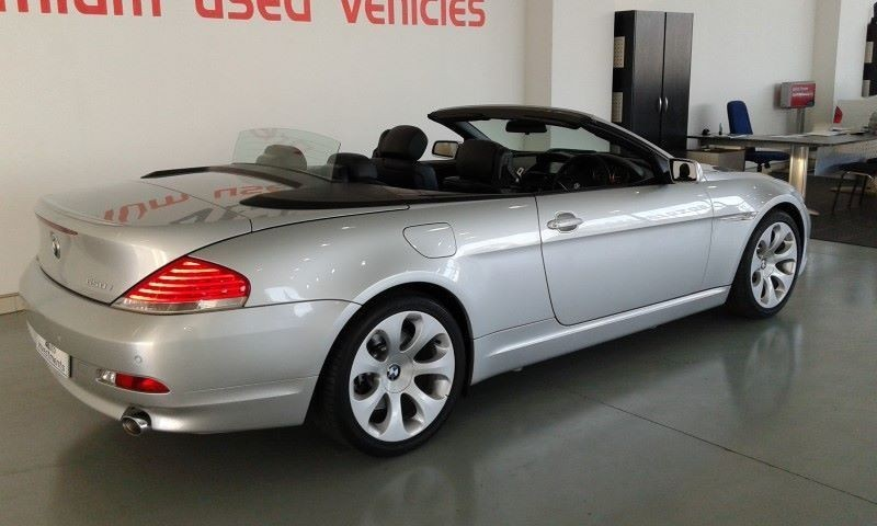 used bmw 6 series 650i convertible indi e64 for sale in. Black Bedroom Furniture Sets. Home Design Ideas